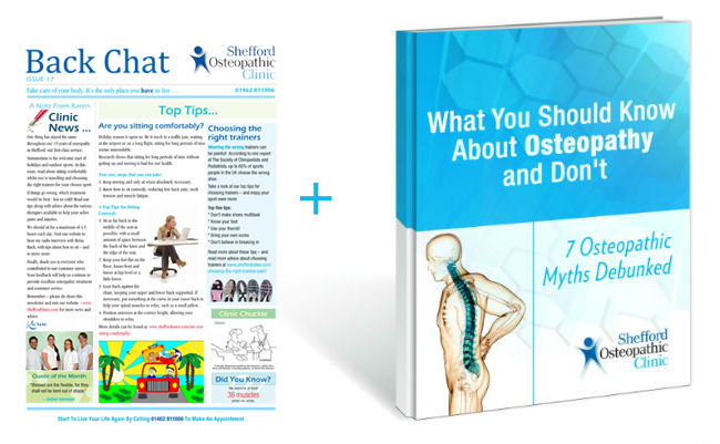 Osteopathy book and newsletter