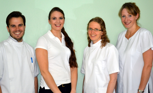 Picture of the therapists at Shefford Osteopathic Clinic